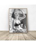 Plakat do kuchni I love spaghetti 2