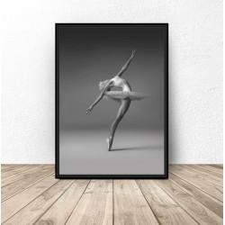 "Plakat fotograficzny ""Tancerka baletowa"""