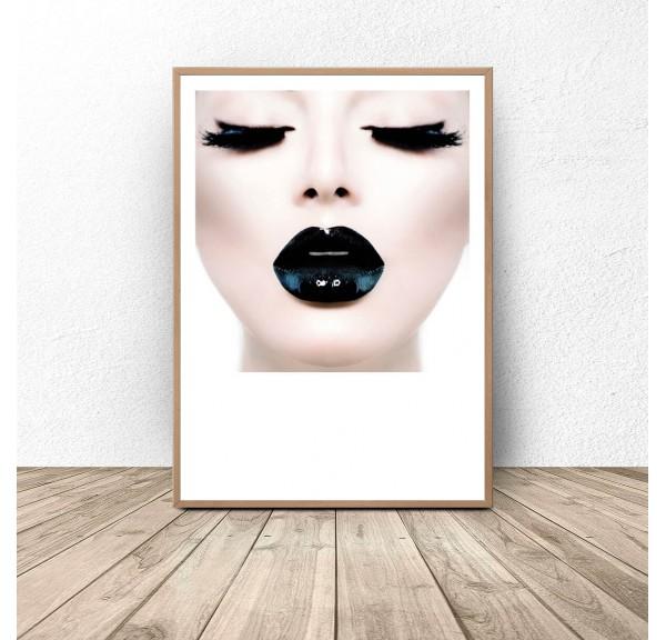 Plakat glamour Black lips