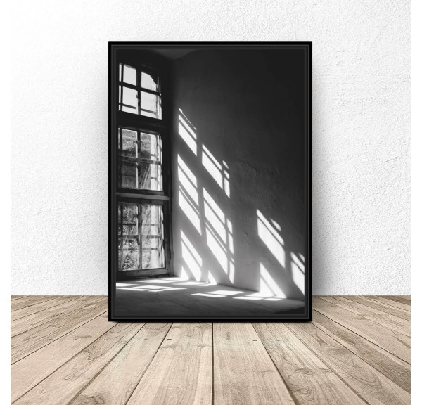 Decorative poster Window
