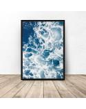 Decorative poster Sea foam