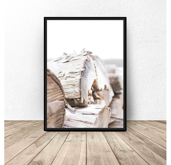 Poster for the wall Bale wood
