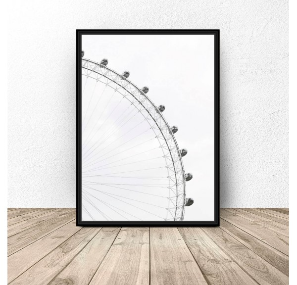 Poster for the wall Ferris wheel