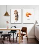Kitchen poster Fresh bread 4