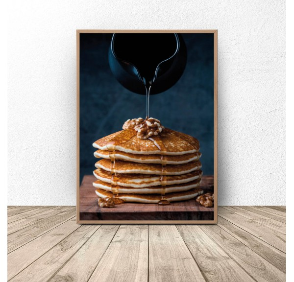 Plakat kuchenny Pancakes