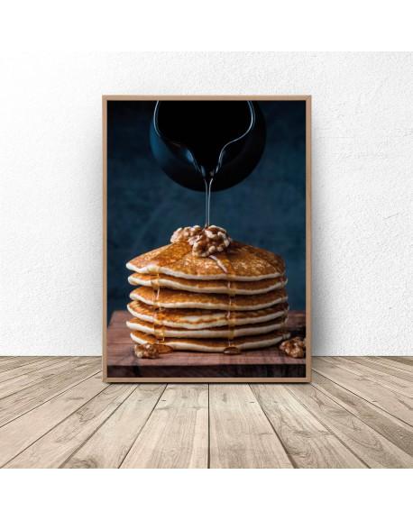 "Plakat kuchenny ""Pancakes"""