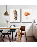 Set of two posters Bread