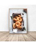 Set of two posters Bread and bagels 3