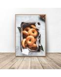 Zestaw dwóch plakatów Chleb i bajgle 3