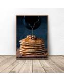 Zestaw dwóch plakatów Pancakes i bagietki 3