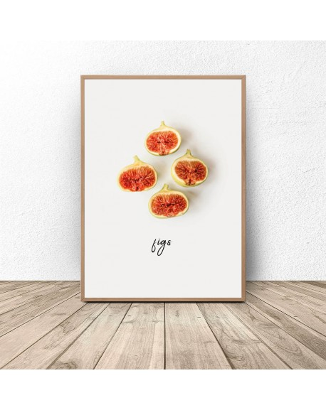 """Plakat kuchenny """"Figi"""""""