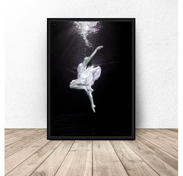 Decorative poster Underwater dance