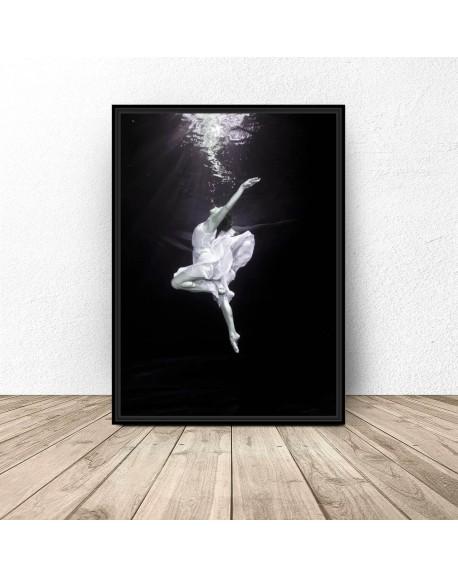 """Plakat dekoracyjny """"Underwater dance"""""""