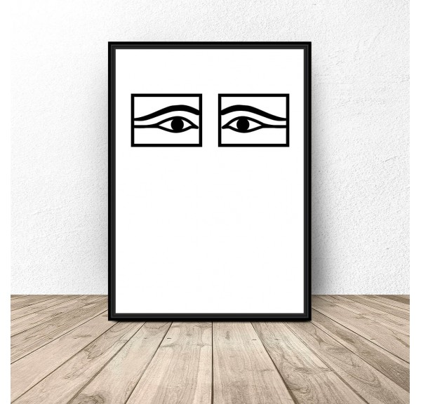 Poster for the wall Egyptian eyes