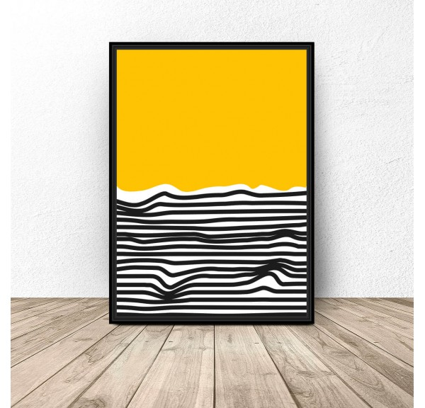 Abstract poster Beach