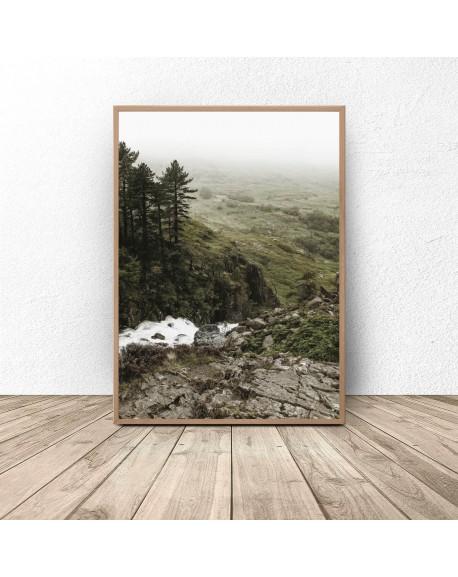 """Plakat """"Skaliste wzgórze"""""""