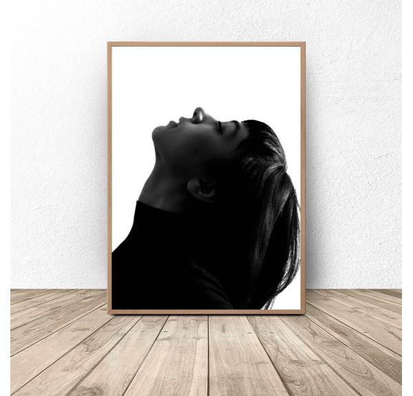 Plakat z kobietą Elegant