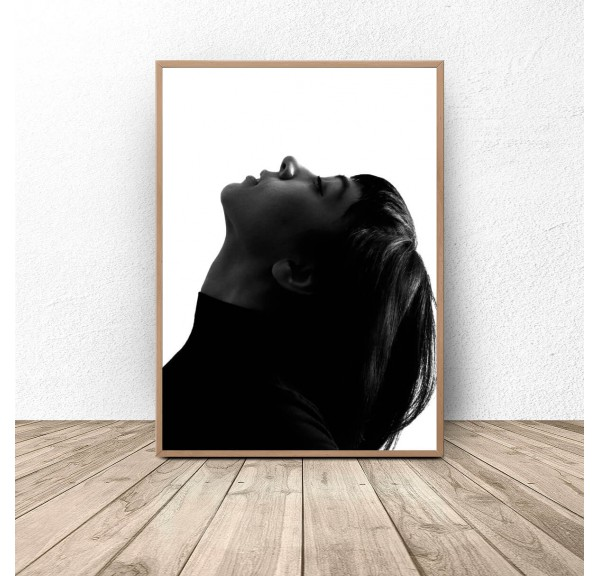 Poster with a woman Elegant