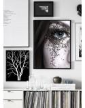Poster Eye in glitter 2