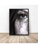 Poster Eye in glitter