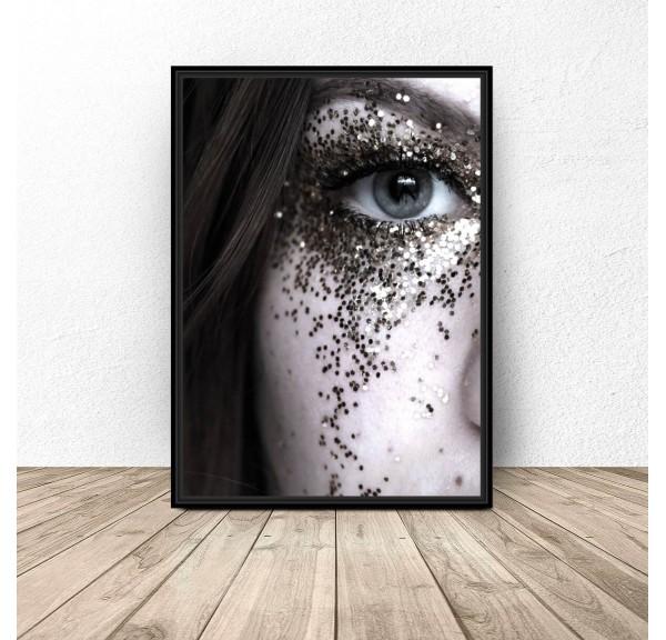 Plakat Oko w brokacie