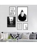 Zestaw dwóch plakatów New York City 4
