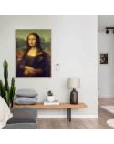 Poster reproduction of Leonardo da Vinci's Mona Lisa 2