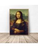 Poster reproduction of Leonardo da Vinci's Mona Lisa