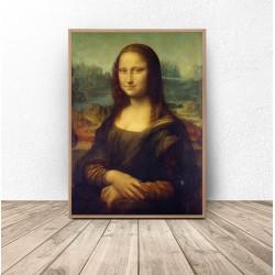 """Plakat reprodukcja """"Mona Lisa"""" Leonardo da Vinci"""