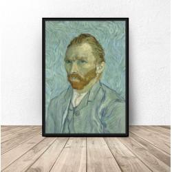 """Plakat reprodukcja """"Autoportret Vincent'a van Gogh'a"""" Vincent van Gogh"""