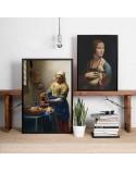 Plakat reprodukcja Mleczarka Jan Vermeer 2