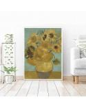 Plakat reprodukcja Słoneczniki Vincent van Gogh 2