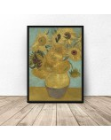 Poster reproduction of Sunflowers vincent van Gogh 3