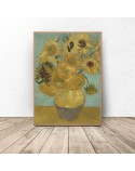 Poster reproduction of Sunflowers vincent van Gogh