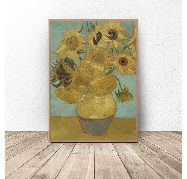 Plakat reprodukcja Słoneczniki Vincent van Gogh