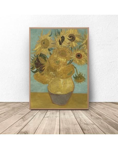 "Plakat reprodukcja ""Słoneczniki"" Vincent van Gogh"