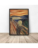 Poster reproduction of Scream by Edvard Munch 3