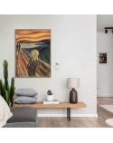 Plakat reprodukcja Krzyk Edvard Munch 2