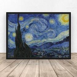 """Plakat reprodukcja """"Gwieździsta noc"""" Vincent van Gogh"""