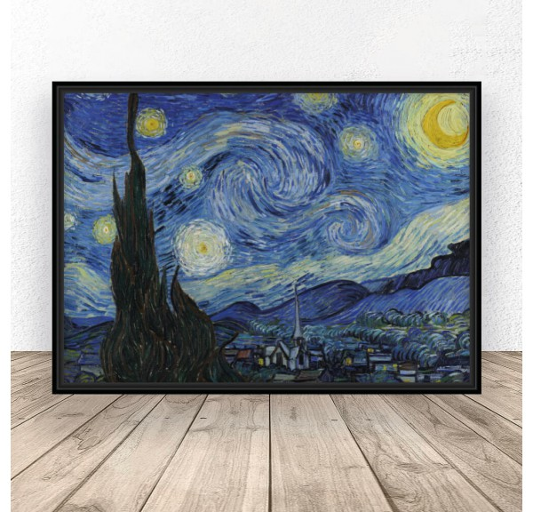 Poster reproduction of Starry Night by Vincent van Gogh