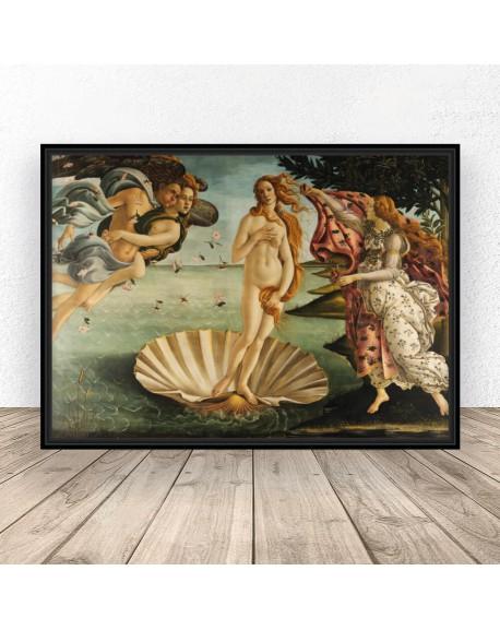 "Plakat reprodukcja ""Narodziny Wenus"" Sandro Botticelli"