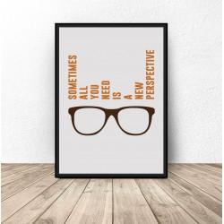 "Plakat motywacyjny ""Perspective"""