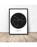 Poster constellation Sagittarius 2