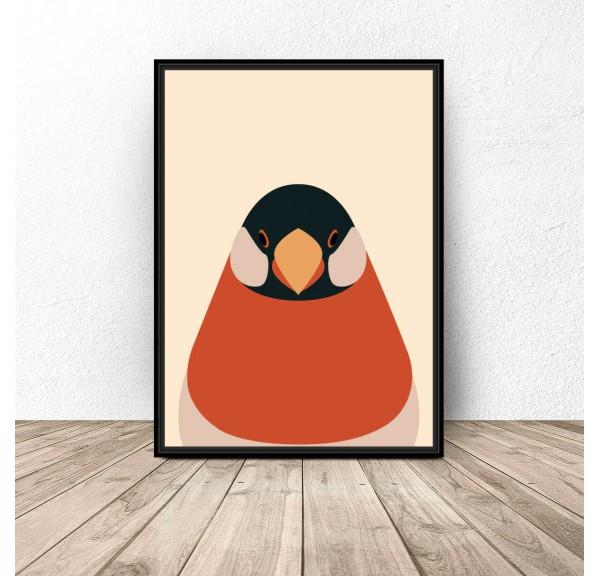 Plakat designerski Portret Gila