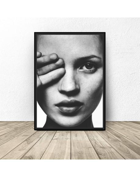 "Plakat z modelką ""Kate"""