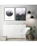Set of 2 forest posters 4