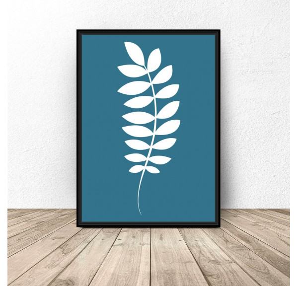 Poster White twig