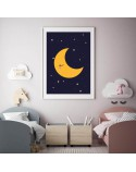 Moon and Planets Poster Set 2