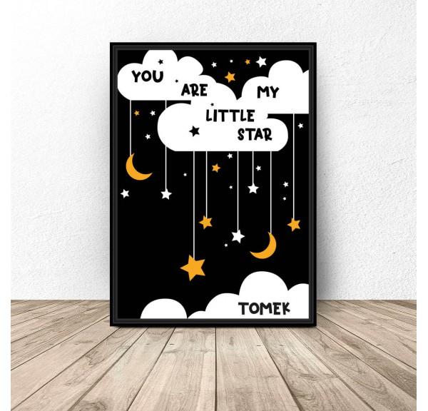 Personalizowany plakat Little star