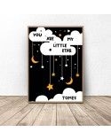 Personalised Little star poster 3